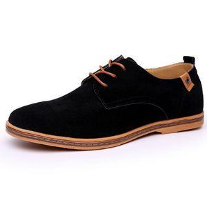 Image 2 - 2019 ブランド男性靴オックスフォードスエード革フォーマルな靴男性カジュアルクラシックスニーカー男性快適な靴 zapatos hombr
