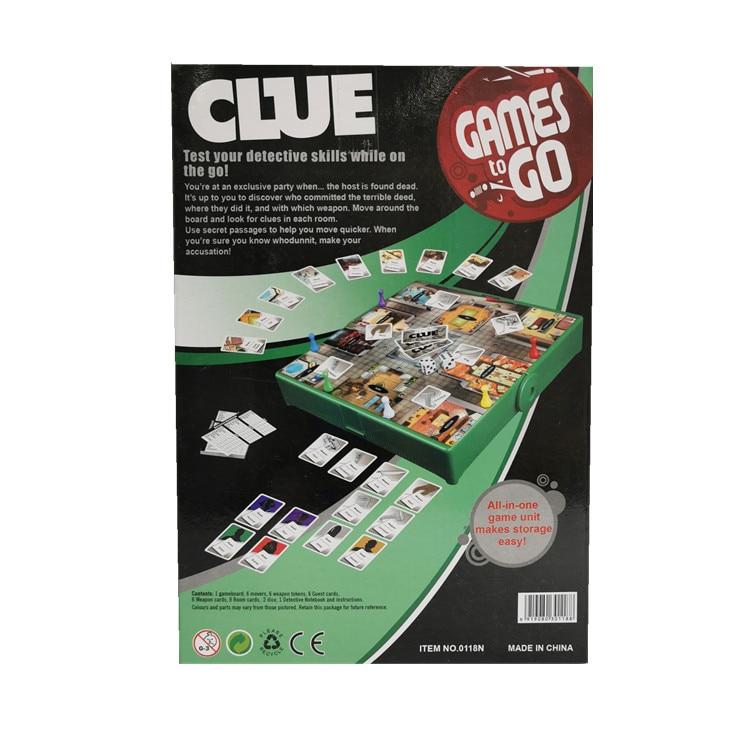 CLUE Games Detective Games Detective Games English Desktop Games English Clue English Games
