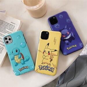 Etui na telefony dla Iphone 11pro Max przypadku Pokemon Anime gry miękkiej kory futerał na telefon Apple Iphone xs Max/XR/8/7/6S przypadku telefonu torby