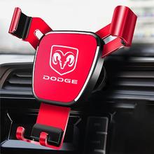 For Dodge Challenger Avenger SXT Caliber Nitro RAM 1500 Car Mobile Phone Holder GPS Bracket Support iPhone Huawei Xiaomi