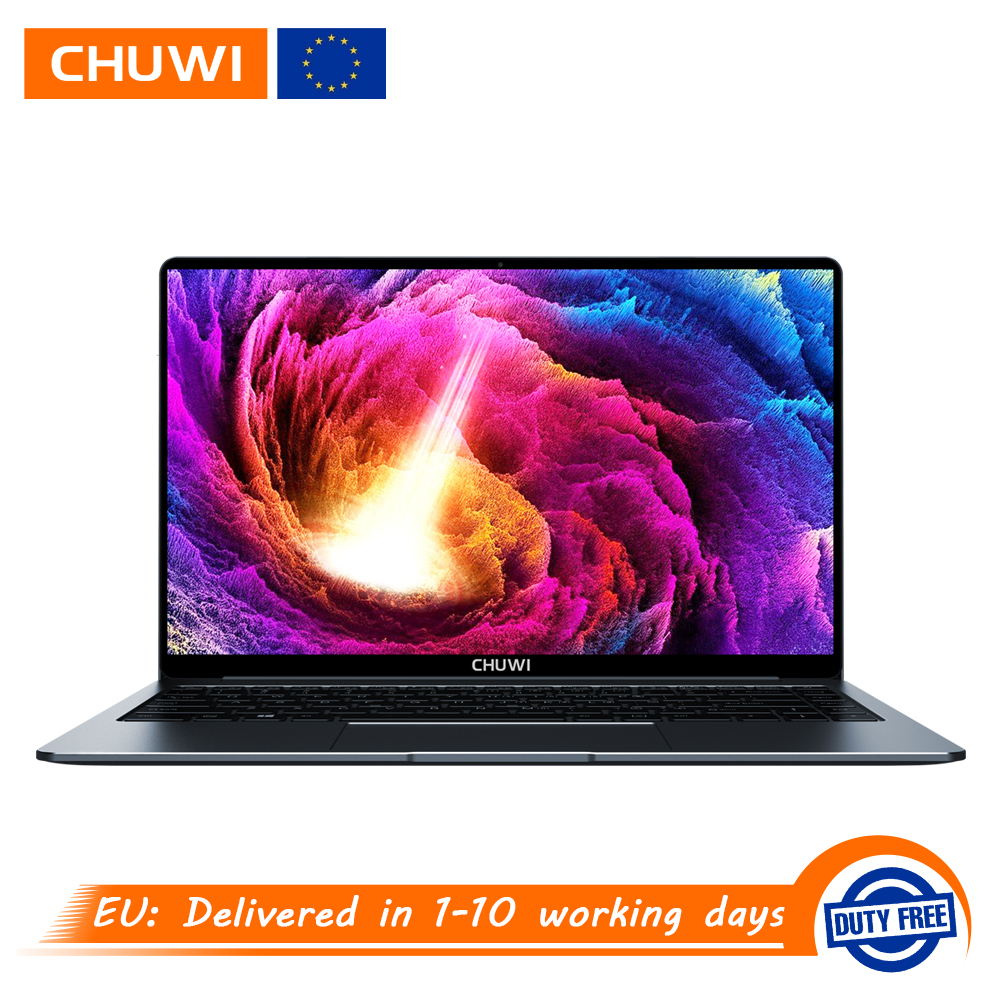 CHUWI Laptop N4100 Windows 10 Backlit-Keyboard Intel Quad-Core Gemini-Lake Pro 4GB