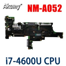 Laptop Mainboard For Lenovo ThinkPad T440S NM-A052 04X3960 Notebook Motherboard With i7-4600U UMA 100% tested work