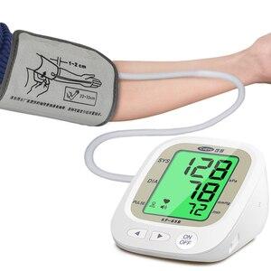 Image 4 - Cofoe automático monitor de pressão arterial braço superior medidor pulso bp batimento cardíaco tonômetro digital lcd sphygmomanômetro