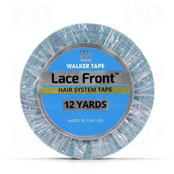 12 yards 1.9cm 2.54cm Lace front support tape double hair tape for wigs or toupees walker tape 36pc lot lace front support high quality strong double tape for toupees wig adhesive tape walker tape