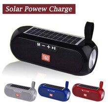Portable Speaker Wireless Bluetooth Speaker Stereo Music Box Solar Mobile Power MP3 Speaker Outdoor Waterproof Speaker