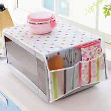Storage-Bag Microwave-Cover Dust-Covers Kitchen-Accessories Oven Waterproof Hood -W2g