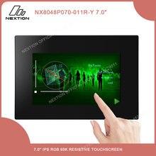 Nextion 7.0 Intelligente Resistive/Capacitieve Lcd Touch Display NX8048P070 011C/R Y Multifunctionele Hmi Module Met Behuizing