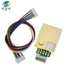 MH Z19 sensor infravermelho do co2 para o sensor infravermelho 0 5000ppm do gás do co2 do dióxido de carbono do monitor MH Z19B do co2