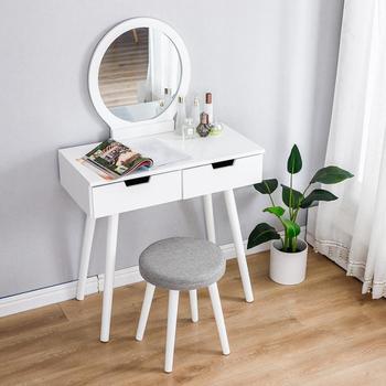 Miroir de Table avec commode et chaise 1