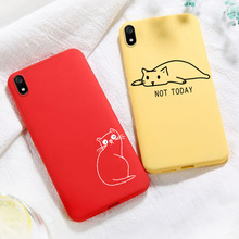 For Xiaomi Redmi Note 5 Cases Cute Cat DIY Painted Silicon Candy Cover For Xiaomi Redmi 5A 5 Plus Case Redmi 8 8A Note 8T 8 Pro silicon plus 5 8 20м