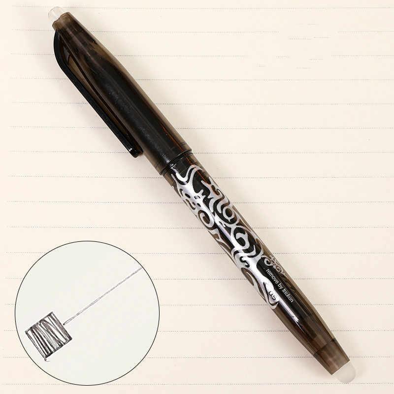 8 rodzajów stylów fioletowy zmazywalny żel długopis nowy najlepszy sprzedawanie kreatywny rysunek długopis żelowy szkolne materiały papiernicze