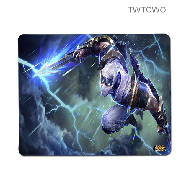 New League of Legends Zed mouse pad gamer play mats Keyboard Pad for Dota2 CS LOL Player gaming mouse pad