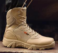 Plus rozmiar 39-47 US buty wojskowe mężczyźni skórzane buty wojskowe dla mężczyzn piechoty buty taktyczne Outdoor Botas Army Bots buty wojskowe tanie tanio ORPULL Podstawowe CN (pochodzenie) Skóra Split ANKLE Stałe Cotton Fabric Okrągły nosek RUBBER Wiosna jesień Niska (1 cm-3 cm)