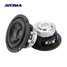 AIYIMA 2Pc 3 Inch Audio Speakers 4 8 Ohm 20W Full Range Speaker Neodymium High Sensitivity Sound Music Bluetooth Loudspeaker DIY