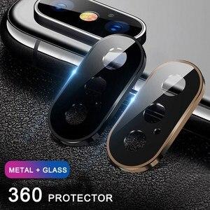 Image 3 - Gehärtetem Glas Auf Für iPhone 11 Pro X XS Max Glas Kamera Objektiv Screen Protector Für Apple iPhone11 Pro Max schutz Glas Film