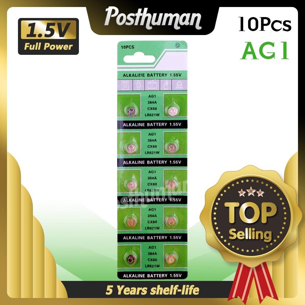 POSTHUMAN AG1 100% Marke Für Uhren Spielzeug Etc EE6202 Neue 20 teile/los LR60 164 GP364 Alkaline Knopfzellen Batterie