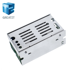 200W MAX DC-DC Boost Converter 6V-55V 10A Adjustable Step Up Voltage Charger Power Supply Module With Aluminum Shell Case Box(China)