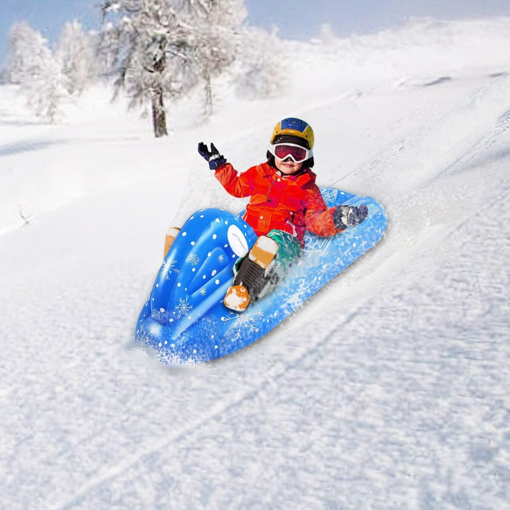 He61a63ac3c234139a92b58d1c547b3c4i - Winter Snow Tubing Inflatable Ski Circle Cold Resistant PVC Outdoor Sport Kids Toys Snow Tube Skiing Accessories For Children
