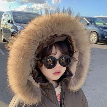 Fox Real Raccoon Collars Coat Trim Detachable Natural For Scarf Hood Women With Fashion Jacket Customized High 100% Fur Collar image