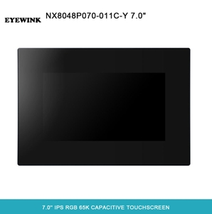 NEXTION 7.0'' Intelligent Resistive/Capacitive LCD Touch Display NX8048P070-011C/R-Y Multifunction HMI Module With Enclosure