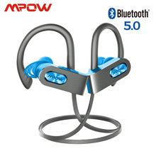 Mpowเปลวไฟ 2 Ipx7 กันน้ำไร้สายกีฬาหูฟังบลูทูธ 5.0 13Hเวลาเล่นHDสเตอริโอสำหรับiPhone Samsung Huawei xiaomi
