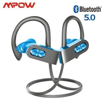 Mpow Flame 2 ipx7 auricular inalámbrico de deporte impermeable Bluetooth 5,0 13h tiempo de reproducción HD estéreo para iPhone Samsung Huawei Xiaomi