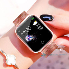 Stainless Steel Smart Watch Women Men Smartwatch For Android IOS Electronics Sma
