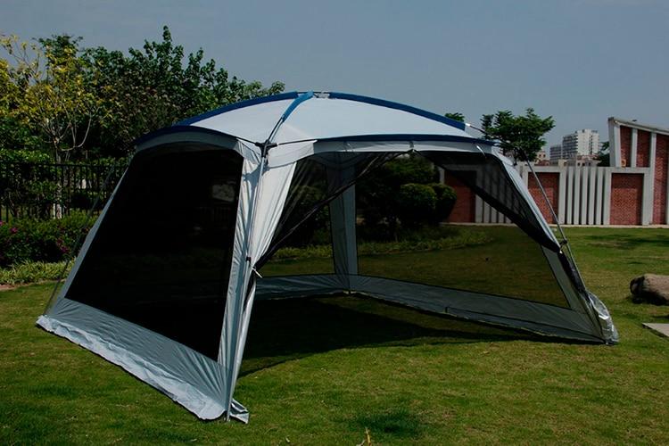 tenda grande gazebo sol abrigo com mosquiteiro