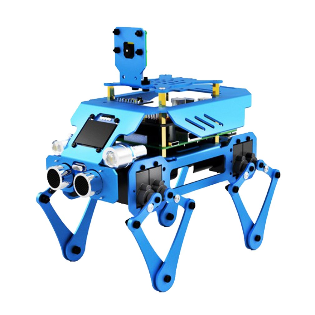 Science Education Programming Coupling Robot Three In One Stable Durable Aluminum Alloy Robot Dog Children Education Kid's Gifts
