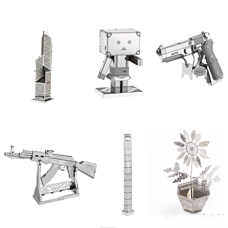 3D Metal Puzzle Model Toy Puzzle Military Construction Insect Multiple Model Kit Kit DIY  Adult Puzzle Intelligence Development