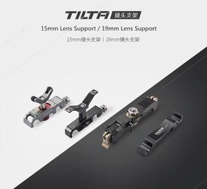 Image 1 - Tilta 15MM lens desteği LS T03 LS T05 19MM Pro lens desteği LS T08 LS T07 uzun zoom objektifi lens destek braketi