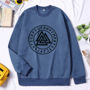 Men Viking Sweatshirt Hoodie Valhalla Odin Hoodie Fashion Pullovers Hoodies Hip Hop Hombres Sudaderas Autumn Winter Streetwear 1