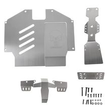 Stainless Steel Axle Protection Rear Front Chassis Armor Set For 1/7 Unlimited Desert Racer UDR
