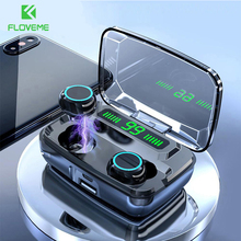 Floveme 3300Mah Tws M11 Koptelefoon Led Draadloze Bluetooth V5.0 Oortelefoon IPX7 Hifi Hoofdtelefoon Stereo Oordopjes Touch Control Headset