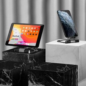 Image 2 - Batman Lega di Alluminio del Metallo Del Telefono Mobile Del Supporto Del Basamento Per il iPhone 11 Pro Max X XS MAX XR Universale Del Telefono Delle Cellule supporti tablet Supporto