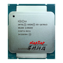 CPU Intel Xeon Processor-30m E5-2678V3 Twelve-Core Twenty-Four-Thread Ghz 120W