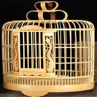 L30cm*W30cm*H42cm bamboo nest bird cage bird house bird cages birdhouse free shipping