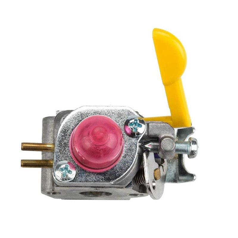 530071752 530071822 545081808 Carburetor With Primer Bulb Bulb Fuel Filter Line Hose Tube For Poulan Craftman Eater String Tri