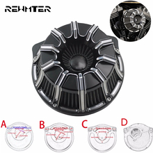 Air Cleaner Filter CNC Crafts Inverted Big Sucker For Harley Sportster 883 1200 Softail Dyna Touring Road King
