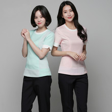 Korean Version Of Plastic Hospital Nurses'clothes Long Sleeve Women's Beauty Salon Work Clothes Technicians' Clothes Dental Work