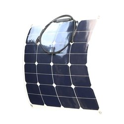Factory price sunpower flexible solar panel sunpower solar cell battery charger 50w for sale