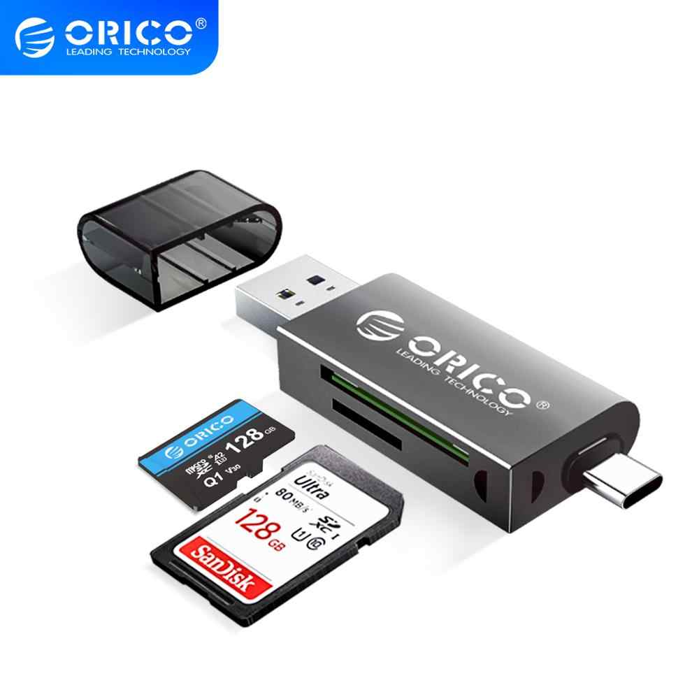 Color : Black Multi-Function Two-in-one High-Speed Card Reader Support SD//TF Camera Driving Recorder Mobile Phone Memory Card Card Reader