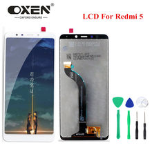 "OXEN 5.7"" LCD Touch Screen for Xiaomi Redmi 5 LCD Display Digitizer Assembly Replacement Phone Panels Free Tools 100% Tested(China)"