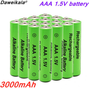 2020 lot New AAA battery 3000mAh 1.5V alkaline AAA rechargeable battery for remote control toy light battery 49 orders