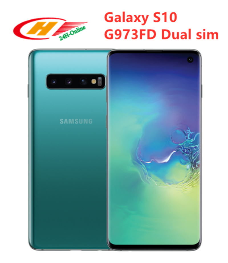 Samsung Galaxy S10 G973FD 128GB GSM/LTE/CDMA NFC Quick Charge 2.0 Wireless Charging Octa Core