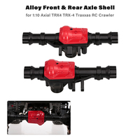 Alloy Front & Rear Axle Shell for 1:10 Axial Traxxas RC Crawler Cars Parts Upgraded Rock Crawler Parts for 3 Colors