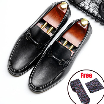 Men Genuine leather brogue Business Wedding banquet shoes mens casual flats shoes vintage handmade oxford shoes for men 2020 vikeduo brown italy derby shoes patina brogue handmade office dress shoes mens footwear wedding business leather shoes zapatos