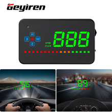 HUD head up display car GPS speedometer car electronics  auto windshield For Car  Motorcycle Auto Accessories  A2