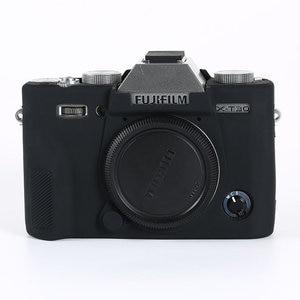 Image 2 - غطاء من السيليكون حقيبة كاميرا ل فوجي فيلم X100V X T200 X T100 XT100 XT4 X T4 X T3 X T30 XT30 X A7 XA7 X T20 X T10 X A5 X A20 XT200