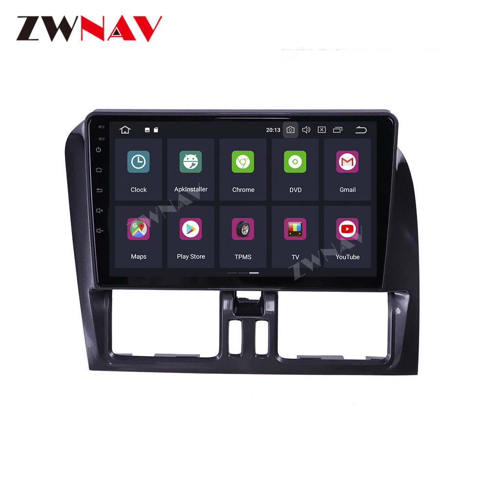 For VOLVO XC60 2009 2010 2011 2012 Car multimedia player Stereo Screen Android  Radio Audio GPS Navigation Head unit BT|Car Multimedia Player|   - AliExpress